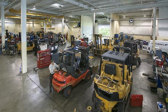 Sửa chữa xe nâng khu công nghệ cao Q9 TPHCM