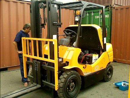 sửa chữa xe nâng tại KCN Long Đức – Đồng Nai