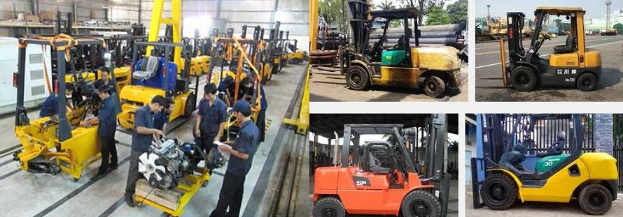 Sửa chữa xe nâng tại Nha Trang - Khánh Hòa
